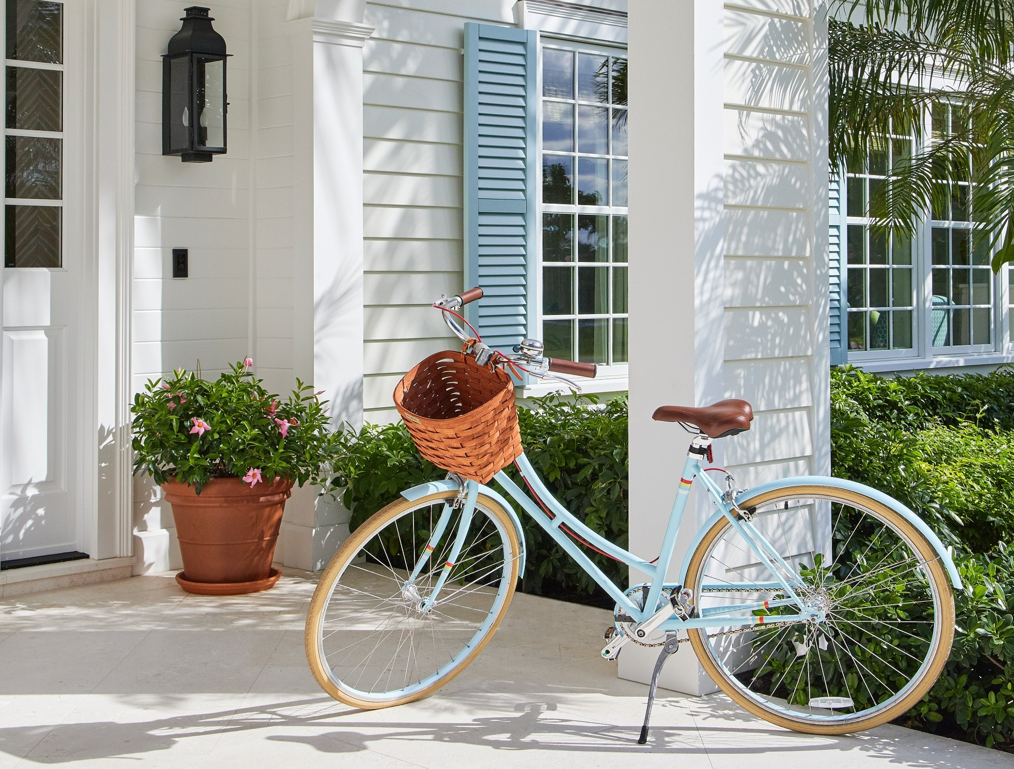 Bike On Porch